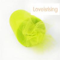 "Wholesale Apple Spool - New Arrivals- 4 Rolls 6""x100y Apple Green Color Tulle Rolls Spool Tutu DIY Craft Wedding Banquet Fabric Wedding Car Decor-Free shipping"