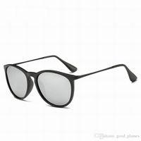 Wholesale Cool New Sun Glasses - New Popular Fashion Sunglasses Man Woman Eyewear Designer Branded Round Cool Sun Glasses Matt Leopard Gradient UV400 Matte Black Online Sale