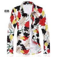 Wholesale 6xl Mens Dress Shirt - Wholesale-Mens 100% Mercerized Cotton Dress Shirts Long Sleeve Plaid Camisa Social Masculina Plus Big Size 5XL 6XL 7XL Casual Loose Blouse