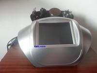 Wholesale Portable Liposuction Cavitation Slimming Machine - 4 in1 portable vacuum ultrasonic liposuction cavitation RF bipolar radio frequency cellulite removal body slimming weight loss machine