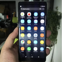 6,3-дюймовый IPS 1280 * 720 HD Goophone Note 8 3G WCDMA Quad Core MTK6580 1GB + 8GB + 32GB Android 7.0 Nougat Dual Nano Sim Card Металлический корпус для смартфонов