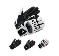 taichi rennhandschuhe großhandel-2015 neueste Motorrad Racing Handschuhe RS TAICHI RST410 Südkorea importiert Leder Punch Kohlefaser Motorrad Handschuhe 4 Farben