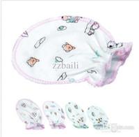 Wholesale Baby White Cotton Gloves - Soft Cotton Cute Infant Baby Kids Unisex Anti-scratch Handguard Mittens Gloves
