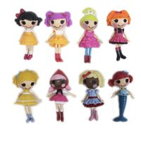 Wholesale Lalaloopsy Dolls Bulk Wholesale - Wholesale-2015 New MGA mini 8CM Lalaloopsy Doll the bulk button eyes toys for girl classic toys Brinquedos 8pcs lot