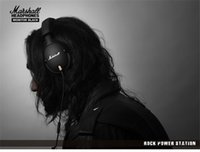 Wholesale Headphones Line Microphone - Marshall MONITOR Over-Ear Headphones w  Microphone - Black Portable rock HIFI Noise Cancelling headset can change line ladle M-ACCS-00152