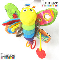 Wholesale Lamaze Toys 5pcs - Newest Lamaze Butterfly Multi-Touch Multi-Function Toys Bolster 5pcs Free shipping