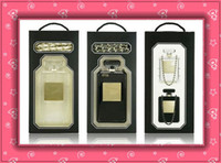 Wholesale Perfume Iphone Case - Perfume Bottle Clear TPU Case for iPhone 4 4S 5 5S 6 4.7'' Plus 5.5'' Samsung Galaxy S3 S4 S5 Note 2 3 Taste Flvor with Chain Retail Package