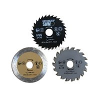 Wholesale Granite Saw Blades - 3pc 54.8x11.1mm Rotorazer Saw Blade Set for steel wood granite cutting Free Shipping