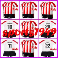 Wholesale Athletic Boy Shorts - Rugby BOYS 2017 2018 Athletic Bilbao Kids Jerseys SUSAETA GURPEGUI MUNIAIN ADURIZ 17 18 set Child Teens Jersey 10 or more free to send DHL