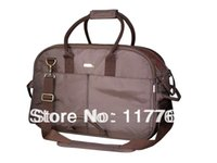 Gros-Free navire Brown double brin 1680D en nylon avec ruban de coton Pet Dogs Carrier Bag Dogs Fashion Bag