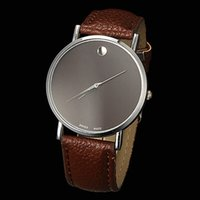 Wholesale Cheap Branded Watches Geneva - New 2015 Watch Famous Brand Geneva Cheap Unisex Watch Men Wristwatches Women Wristwatch Fashion Wrist Leather Strap Quartz Watch