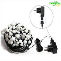 String Lights Plug In LED Ball Starry LED Light com 8 ft 72 LEDs Waterproof Globe Fairy Lights lâmpada para Patio Curtain Wedding Christmas