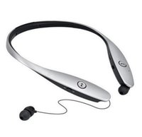 Wholesale Silver Tone Headband - HBS 900 Bluetooth 4.0 In-Ear Noise Cancelling L G Tone Infinim HBS-900 Bluetooth Headphone with CSR8645 chip lg neckband bluetooth ZQ12
