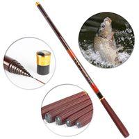 Wholesale Carp Feeder Rod - Goture Carbon fiber fishing feeder rod telescopic pole spinning ultra light fish fishing rods stream carp rod 3.6-6.3Meter