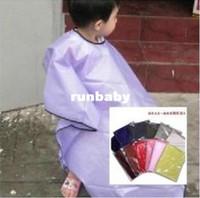 çocuklar saç kesme pelerin toptan satış-BaBy Salon Önlük Çocuk Berber Cape Çocuk Saç Kesme Burunları Bez Kapak Saç Şampuanı Profesyonel Şekillendirici Araçları Kuaför