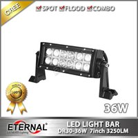 8in 36W Lkw-Sattelzugmaschine Jeep Ford superhellen LED-Lichtleiste