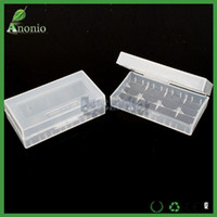 Wholesale Battery Holder E cigs Plastic Battery Case Box Holder Storage Container pack or Batteries Storager Container