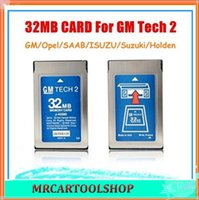 Wholesale Gm Tech Memory Card - Good Quality+ Free shipping! 2015 Newest 32MB Card For GM Tech2 6 Software Optional GM Tech2 Card 32 MB Memory GM Tech 2 Card