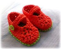 ingrosso l'avvio del pattino della neonata dell'uncinetto-2015 Crochet baby girl primavera / estate scarpe / scarpe rosse / stivaletti, verde prime scarpe walker Baby Girl Boots