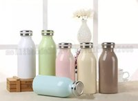 Wholesale Girls Thermos - Cartoon Vacuum Cup Thermos Bottle Double Anti-hot For Water Bottle Cute Stainless Steel Straight Kettle For Girls MYY
