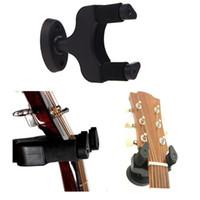 kompakte gitarre großhandel-Aroma AH-81 Wandhalter Rack Haken für Gitarre Bass Ukelele Einfache Installation Universal Compact Platzsparende 10 teile / los