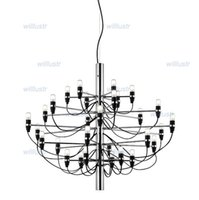 Wholesale Gino Sarfatti Chandelier - free shipping Flos pendant lamp 2097 50 30 18 suspension lighting chandelier 2097 by Gino Sarfatti
