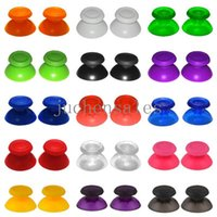 Wholesale playstation replacement - 15Colors Choice Mushroom Thumb Stick Grips Analog Replacement Plastic 3D PS4 Joystick Cover Caps For Sony Playstation Controller
