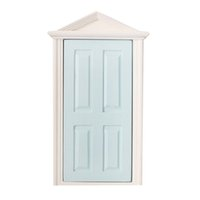 Unisex dollhouse doors - ABWE Best Sale Scale Wooden Fairy Steepletop Door Dollhouse Miniature Accessory Blue  sc 1 st  DHgate.com & Wholesale Dollhouse Doors - Buy Cheap Dollhouse Doors from Chinese ...