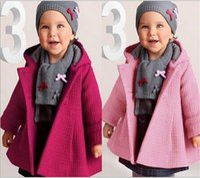 Wholesale Wholesale Canvas Coats - New Autumn kids jacket Children's coat sleeve fashion baby coat girl's coat baby jacket higtht quality free shipping