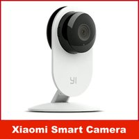 Wholesale Small Wifi Ip Cameras - Original Xiaomi Smart CCTV Camera Small Ants Smart Webcam IP Wireless Wifi Camcorder Built-in Microphone Xiaomi yi Camera