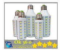 Wholesale Ultra bright SMD Led Corn light E27 E14 B22 V W W W W W W W LED bulb degree led Lighting Lamp V