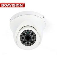 Wholesale Metal Ir Dome Camera - CMOS 720P IP Camera Outdoor Dome 3.6mm Lens 20M IR Night Vision Waterproof H.264 1MP Mini IP Cam Onvif Metal