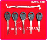 Wholesale Quick Set Locks - GOSO 5 pcs super quick opener,quick opener,lock pick tool,locksmith tooll free shipping