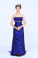 Wholesale Custom Tailored Cocktail Dress - Free shipping 2015 classic Bra-style evening dress gauze trailing free tailor-made solid fashion dresses Chaozhou evening dress cocktail dre