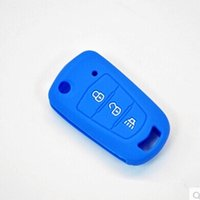 Wholesale Great Wall H5 - cover 3 Silicone Remote Case Cover For Great Wall aval over H1 H3 H5 H6 3 Buttons Silicone Key Case 4 Colors