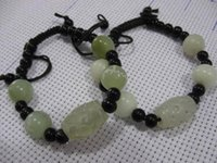Wholesale Scripture Supplies - Wholesale-Baoshan Muslim supplies Hui Islamic jewelry natural jade crafts Jade scripture bracelet