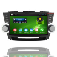 """Wholesale Duad Core - 2 Din 1024*600 Android 4.4.4 Car DVD for 10.2"""" Toyota Highlander 2011-2014,Duad Core A9 1.6GHz,Mirrorlink,Wifi,3G"""