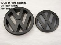 Wholesale Golf Logo Badges - Volkswagen Parts VW Golf 5 MK5 Front Grille Badge LOGO Black Color Glossy finished Emblem for Golf5