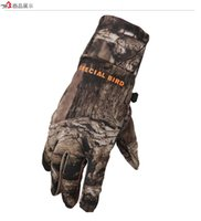 Wholesale Women S Tactical Gloves - Wholesale-Men And Women Camouflage Tactical Full Finger Gloves Anti-Slip Commando Tactics Outdoor Sports Shockproof Cut-Resistant Mittens