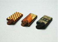 Wholesale Usa Polishes - Wood dugout 4 inch polished dugout very high quality with different pattern shipping from USA via USPS