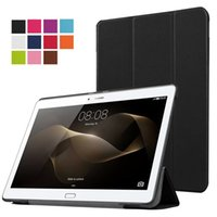 Ultra-mince PU Housse en cuir pour Huawei MediaPad M2 10,0 M2-A01L M2-A01M M2-A01W + Screen Tablet Case Film de protection Protector