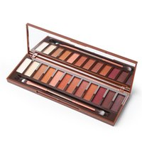 Wholesale naked palette makeup 12 for sale - High Quality Heat Palette Naked EyeShadow Palette colors Eye Shadow palettes Makeup With Makeup Brushes