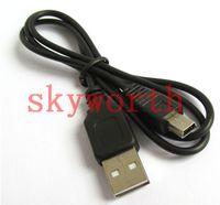 pins de la cámara al por mayor-Cable USB Mini V3 de alta calidad con 5 pines Cable de datos para MP3 MP4 Cámaras digitales de navegador GPS DVD