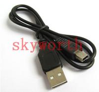 ingrosso mini cavo di dati della macchina fotografica del usb-Cavo di alta qualità Mini USB 5 pin V3 Cavo dati per MP3 MP4 GPS navigatore fotocamere digitali DVD