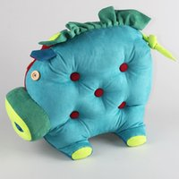 Wholesale Pig Toys For Birthday Gifts - Free shipping,creative handmade Faux suede toys kids lovely pig cushion pillow best Chirstmas birthday gifts for children