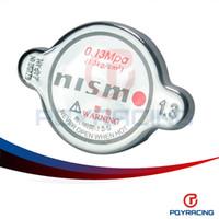 Wholesale Nissan Skyline Radiator - PQY STORE-Nismo 1.3Bar Radiator Cap FOR 180SX 240SX 300Z 350Z 370Z G35 G37 GTR Silvia Skyline JDM Big Size PQY6312