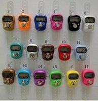 Wholesale Tally Counter Wholesale Price - free shipping 500pcs Mini Digital Electronic Muslim Finger Ring Tally Counter Tasbeeh Tasbih Golf &Temple Wholesale Low Price