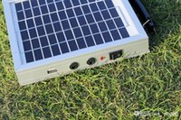 Wholesale Led Solar Panel 3w - Portable camping suitcase solar battery with 3W 12V solar panel for led light or mobile phone Independent solar power system