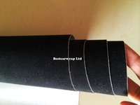 Wholesale Roll Black Velvet - Black Velvet Vinyl Wrap Decal Sticker Film For car interior Air Bubble Free similar like leather wrap covering Size:1.52x15m roll