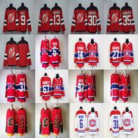 Wholesale Cheap Men S Gold - 2017-2018 Season 13 Nico Hischier 92 Jonathan Drouin 68 Jaromir Jagr 9 Taylor Hall 31 Carey Price Hockey Jerseys Cheap